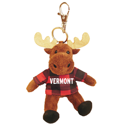 Zipper Pull- Moose - VERMONT Red Jack