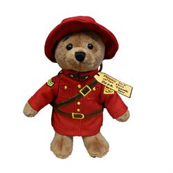 "Zipper Pull - 4.5"" RCMP Paddington Bear"