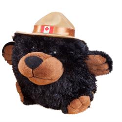 "4.5"" RCMP Character Buddies Black Bear"