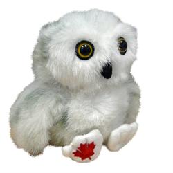 """4.5"""" MapleFoot Snowy Owl"""