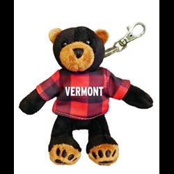 Zipper Pull - Black Bear - VERMONT Red Jack