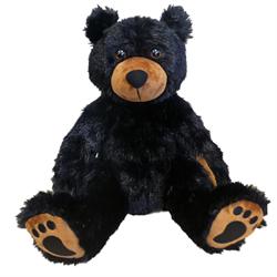 "15"" Sitting Black Bear"