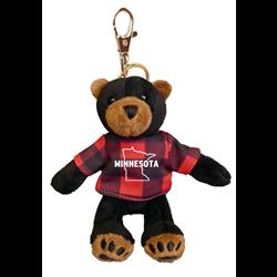 Zipper Pull - Black Bear - MINNESOTA - Red Jack