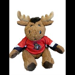 "10"" Curly Critter Moose - Ottawa Senators"