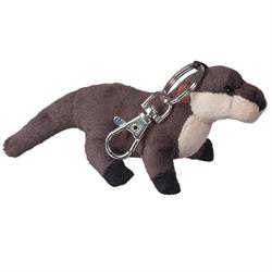 Zipper Pull - Natural River Otter