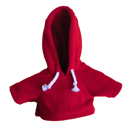 Large red hoody