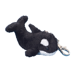 Zipper Pull - Killer Whale