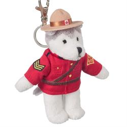 "Zipper Pull - 5"" RCMP Husky"