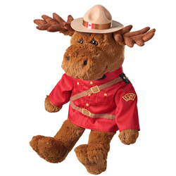 "22"" RCMP Sergeant Moose"