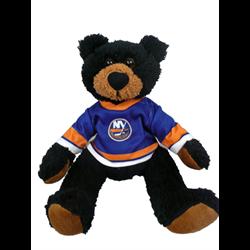 "10"" Curly Critter Black Bear - New York Islanders"