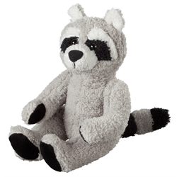 "10"" Curly Critter Raccoon"