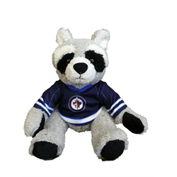"10"" Curly Critter Raccoon - Winnipeg Jets"