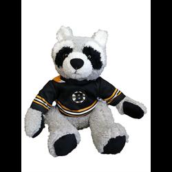 "10"" Curly Critter Raccoon - Boston Bruins"