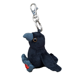 Zipper Pull - MapleFoot Raven