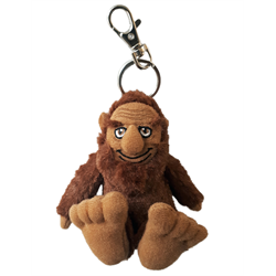 Zipper Pull - BigFoot Sasquatch