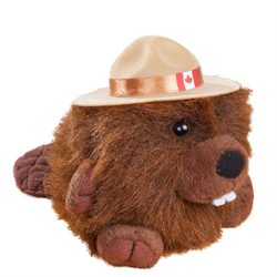 "4.5"" RCMP Character Buddies Beaver"
