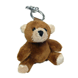 Zipper Pull - Brown Bear