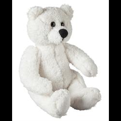 """10"""" Curly Critter Polar Bear"""