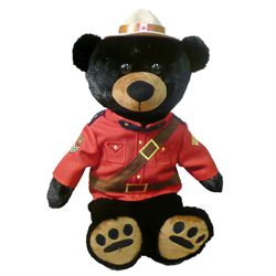 "14"" RCMP Sergeant Black Bear"