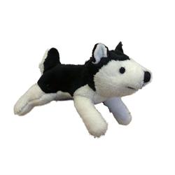 Zipper Pull - Black Husky