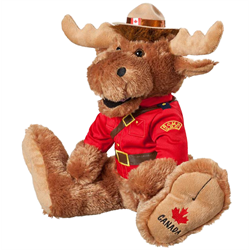 "14"" RCMP BigFoot Moose"