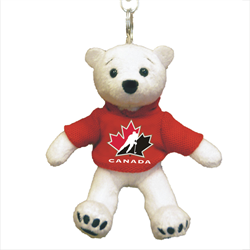 "4.5"" Zipper Pull - Hockey Canada Polar Bear"