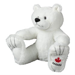 "14"" BigFoot Polar Bear Canada"