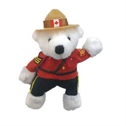 "Magnet - 4.5"" RCMP Polar Bear"