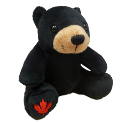 "4.5"" MapleFoot Black Bear"