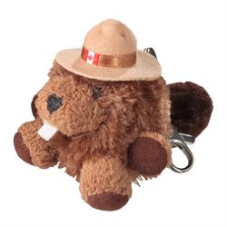 Zipper Pull - RCMP Character Buddies Beaver