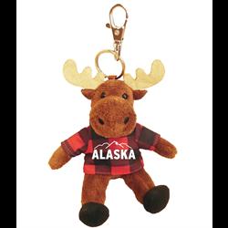Zipper Pull- Moose - ALASKA & MTN Red Jack