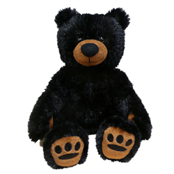 "12"" Cuddle Critter Black Bear"