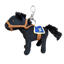 "Zipper Pull - 5"" RCMP Horse"