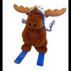 "6"" Skier Moose BLUE"