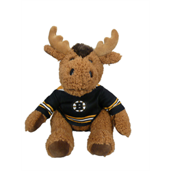 """10"""" Curly Critter Moose - Boston Bruins"""
