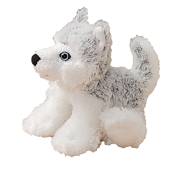 "7"" FloppyFoot Grey Husky"