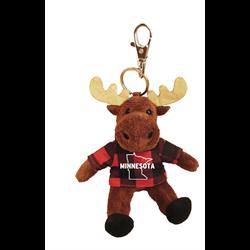 Zipper Pull - Moose - MINNESOTA - Red Jack