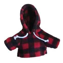 Large red jack hoody