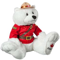 """14"""" RCMP BigFoot Polar Bear"""