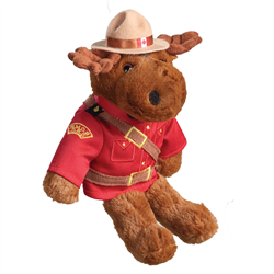"8"" RCMP Sergeant Moose"