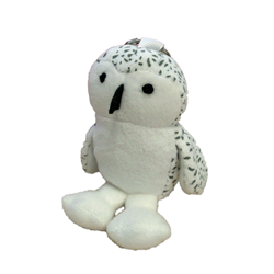 Zipper Pull - Snowy Owl MapleFoot