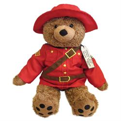 "14"" RCMP Paddington Bear"