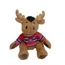 """10"""" Curly Critter Moose - Montreal Canadiens"""