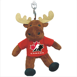"4.5"" Zipper Pull - Hockey Canada Moose"