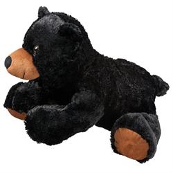 """20"""" FloppyFoot Black Bear"""