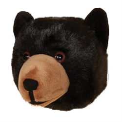 Wall Toy Black Bear