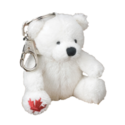 Zipper Pull - Polar Bear MapleFoot