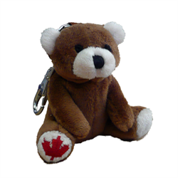 Zipper Pull - Brown Bear MapleFoot