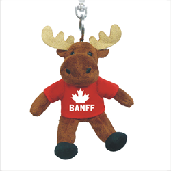 Zipper Pull - Moose - BANFF Solid Red