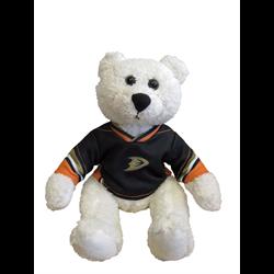"10"" Curly Critter Polar Bear - Anaheim Ducks"